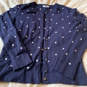 Charter Club Navy Blue sweater/cardigan